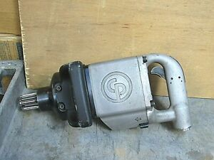 CHICAGO PNEUMATIC SPLINED IMPACT WRENCH SPLINE DRIVE CP6135-FT7 2900RPM 90PSIG