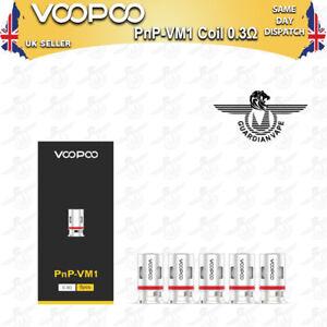 VOOPOO PNP-VM1 MESH COILS 0.3 OHM FOR VINCI / VINCI R / VINCI X - PACK OF 5