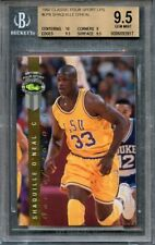 1992 classic four sport lps #lp8 SHAQUILLE O'NEAL rookie BGS 9.5 (10 9 9.5 9.5)