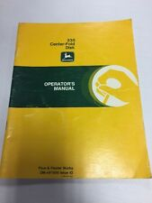John Deere 235 Center - Fold Disk Operator's Manual