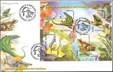 Romania 2003 Amphibians/Reptiles/Frogs/Lizards/Animals/Nature 4v m/s FDC n10014