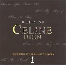 MUSIC OF CELINE DION - THE QUALITY SINGERS!! NEW!!!