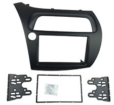 2 Din Radio Fascia for Honda Civic Hatchback Stereo Panel Trim Frame Dash Kit