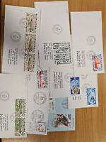 French Antartic selection of covers(9) K35