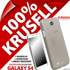 New Krusell FrostCover Hard Shell Case for Samsung i9500 Galaxy S4 Cover - Black