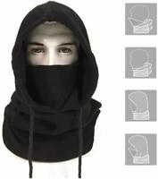 Ski Mask Balaclava Fleece Hood fr Men Women Winter Neck Warmer Windproof Cap