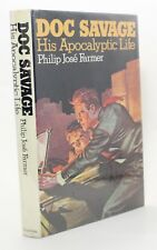 Doc Savage His Apocalyptic Life Philip Jose Farmer Vtg First Edition 1973 Book !