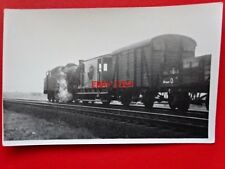 PHOTO  LMS LOCO NO 42095 BANKING UP A TRAIN AT SHAP 8/63