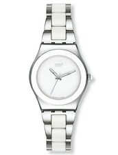 "SWATCH Irony Medium ""White Ceramic/Vault Blanc"" (yls141gc) MERCE NUOVA"