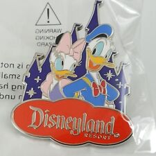 Dlr Donald & Daisy with Castle Costco Travel Disney Pin 119203, Brand New