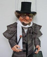 Traveler - original marionette, 18 inches tall, handmade from Czech Republic
