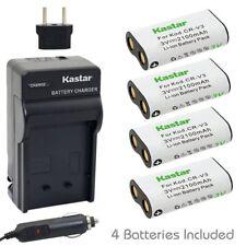 CR-V3 Battery or Regular Charger for Kodak EasyShare CX7310 CX7330 CX7430 CX7525