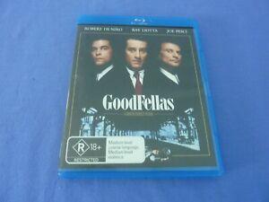 GoodFellas Blu-Ray Robert De Niro Ray Liotta Joe Pesci Free Tracked