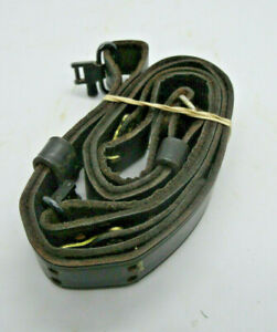 Black Leather Sling with Quick Detachable Swivels, Uncle Mike, used