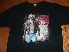 JASON ALDEAN official 2012 US tour shirt adult X-Large