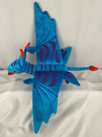 "Disney Parks Pandora Banshee 17"" x 24"" Blue Purple Dragon Plush World Of Avatar"