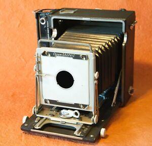 Graflex Crown Graphic 4x5 Folding View Camera