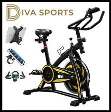 Exercise Bike Studio Cycle Indoor Training 12kg Spinning flywheel UK