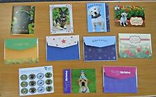 Guiding Eyes for the Blind Guide Dog Greeting Cards - 5 Cards with Envelopes