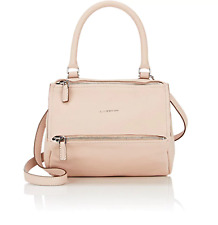 New GIVENCHY Goatskin Small Pandora Messenger Cross Body Bag powder pink