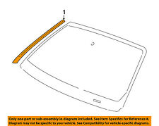 JAGUAR OEM 02-08 X-Type Windshield-Reveal Molding Right C2S36549