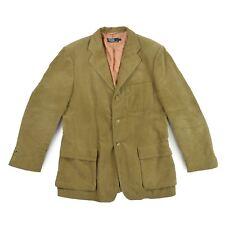 01642e17fb6d Ralph Lauren Hommes Blazer 52 L Kord Jacket Cardigan Marron Veste de sport  comme neuf