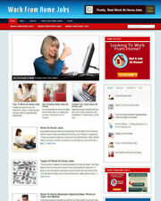 WORK FROM HOME WEBSITE WITH AFFILIATE STORE - NEW DOMAIN - INSTALLATION