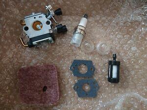 Carburetor Carb Kit For Stihl FS45 FS46 FS55 FC55 FS38 HS45 FS74 FS75 FASTP&P