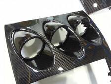 Carbon Fibre 5Di Noc Vinyl Wrap Full Black Gloss Bubble AIR Free 1520mm x 100mm