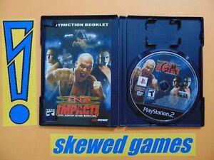 TNA Impact - cib - PS2 PlayStation 2 Sony