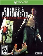 Sherlock Holmes: Crimes & Punishments (Microsoft Xbox One, 2014)
