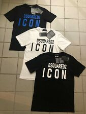 Mens New DSQUARED2 ICON Logo T Shirt 2020 Edition Brand New With Tags