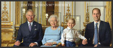 2016 QUEEN'S 90th BIRTHDAY Mini Sheet Mint - No Barcode MS3832