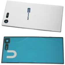 Battery Cover For Sony Xperia X Compact White Replacement Panel & Adhesive UK