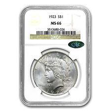 1922-1925 Peace Dollars MS-66 NGC (CAC) - SKU #76680
