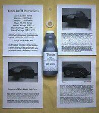 Toner Refill Kit for Xerox WorkCentre XD120f XD125 XD125f XD130f XD130df XD150