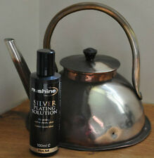 Silver plating solution 100mls - Silver plate you flute in an instant