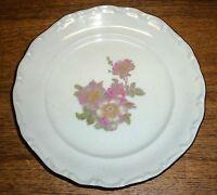 "Porcelain Salad Plate - E&R Schumann Arzberg Bavaria Germany Briar Rose - 7 7/8"""