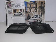 FIAT 126 SILVER DEL 79 PRESE D'ARIA LATERALI DX E SX