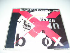 LIVING IN A BOX - BLOW THE HOUSE DOWN * 4 TRACK CD MAXI GERMANY 1989 *