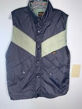 Volcom Workwear Men's Down Vest Corduroy Outer Sage Green, Size M