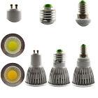 High Power E14 E27 GU10 6W 9W 12W COB LED Downlight Globe Bulb Spotlight 85-265V