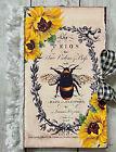 Handmade  'Bee Journal'  Grunge/Shabby Junk Journal/Ephemera