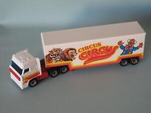 Matchbox Convoy Daf Box Car Circus Big Top Clown Toy Truck Model 170mm UB