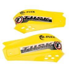 Tusk MX D Flex Handguards Replacement Hand Shields D-Flex Hand Guards Yellow