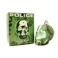 Police To Be Camouflage Edt Eau de Toilette Spray for Men 125ml NEU/OVP