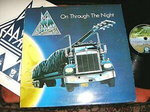DEF LEPPARD -    On Through The Night,   ORIGINAL 1980 UK DEBUT LP.... NICE COPY