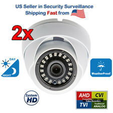 2x High Definition All Weather NightVision CCTV Security Camera for Surveillance