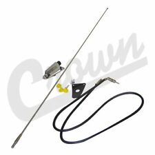 1976-1995 Jeep CJ/YJ Chrome Antena Kit
