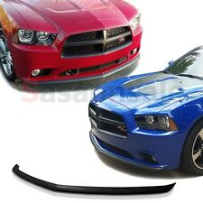 2011-2014 Dodge Charger Daytona Mopar Type Front Chin Lip Spoiler POLY URETHANE